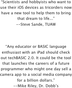 """Scientists and hobbyists who want to use their iOS devices as tricorders now have a new tool to help them to bring that dream to life...""